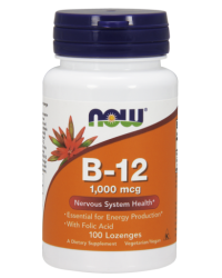 Vitamin B-12 (1000 mcg) with Folic Acid Chewable Lozenges Kenya