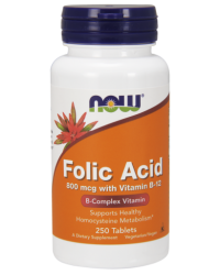 Folic Acid 800 mcg with Vitamin B-12 Tablets kenya