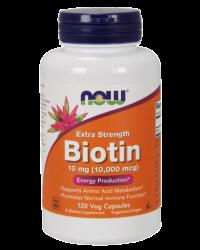 Biotin 10 mg (10,000 mcg), Extra Strength Veg Capsules Kenya