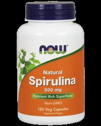 Natural Spirulina 500 mg Veg Capsules Kenya