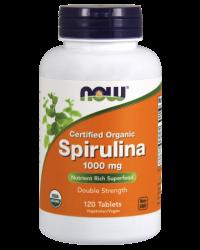 Spirulina 1,000 mg Tablets, Certified Organic Kenya
