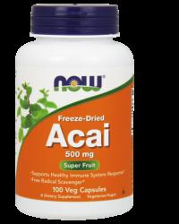 Acai 500 mg - 100 Veg Capsules Kenya