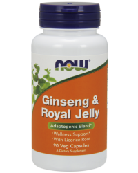 Ginseng & Royal Jelly Veg Capsules Kenya