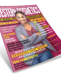 Western Cosmetics Women Health Magazine