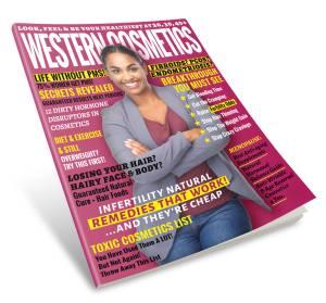 Western Cosmetics Women Health Magazine