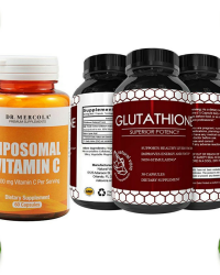 Reduced Glutathione + Liposomal Vitamin-C
