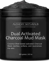 Dual Activated Age Defying Charcoal Mud Mask Facial Treatment
