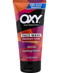 Acne Medication Face Wash with Maximum Strength 10% Benzoyl Peroxide
